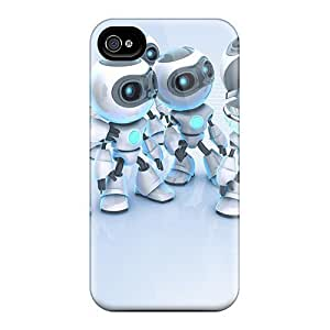 6 Scratch-proof Protection Cases Covers For Iphone/ Hot Robots 3d Phone Cases