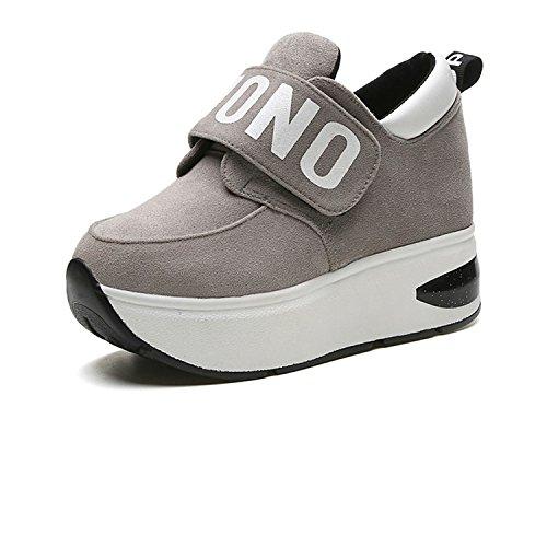 Amazon.com | Reedbler Autumn Platform Shoes Woman Slip On Casual Women Shoes Round Toe Flats Zapatillas Mujer Size 35-39 | Fashion Sneakers