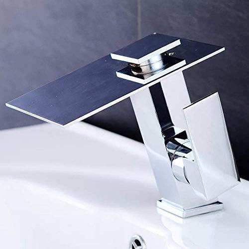 ShiSyan 立体水栓 万能水栓 実用的な温度コントロールカラーチェンジLEDクリエイティブ新しいアウトレット単体リフトオープンキッチンバスルーム銅の蛇口美しいです 混合水栓