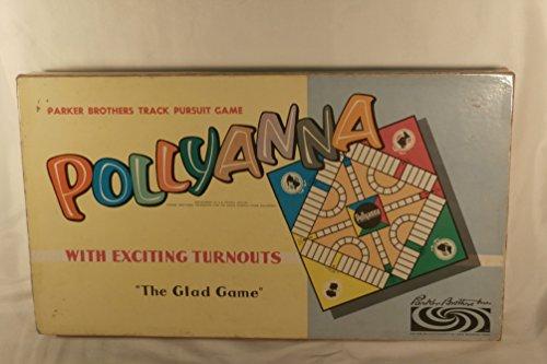 Vintage Pollyanna Track Pursuit Game - The Glad Game - 1952