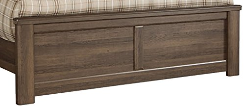 Ashley Furniture Signature Design - Juararo Full Panel Footboard - Component Piece - Dark Brown