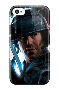 Defender Case For Iphone 4/4s, Aliens Colonial Marines Pattern