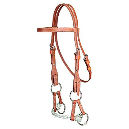 Image of Bridles & Accessories Colorado Saddlery The 5-31 Side Pull Headstall