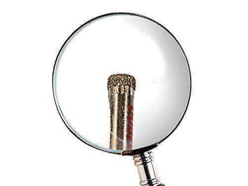 6-8mm f/ür Glas Marmor etc. 4 tlg Diamant Lochs/äge Kernbohrer 4-5 Keramik