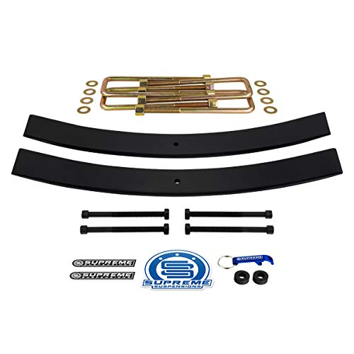 Supreme Suspensions - Rear Leveling Kit for 2005-2019 Toyota Tundra 1.5