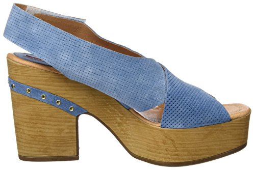 WEEKEND BY PEDRO MIRALLES Damen 17500 Clogs Blau (Cielo)