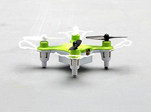 Fentac Syma X12S mini Nano 6-Axis Gyro 4 Channel 2.4G Transmitter RC Quadcopter RTF 3D 360° Helicopter (Green)