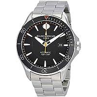 Baume & Mercier Clifton Automatic Black Dial Men's Watch
