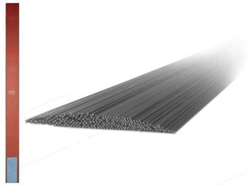 1 kg 1.4316 MTC-308L V2A VA varillas de soldadura / electrodos de alambre con 1, 6 mm Ø x 1000 mm para acero inoxidable y aceros de alta aleación WIG / TIG Soldadura