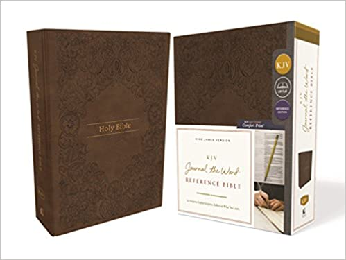 KJV, Journal the Word Reference Bible, Leathersoft, Brown