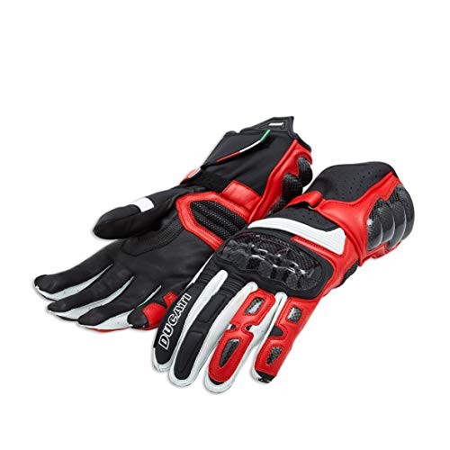 - Ducati Performance C2 - Leather gloves - Red/Black