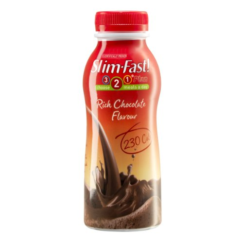 Slim Fast Slim-Fast Rich Chocolate Flavour Milkshake 325Ml (Pack Of 6)