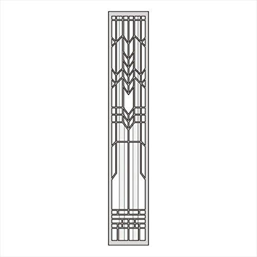 オンリーワン グロウウォール グラゼ ガラス2本タイプ L  AG2-GWGL2    『表札 サイン 戸建』   B06XK9CFNB