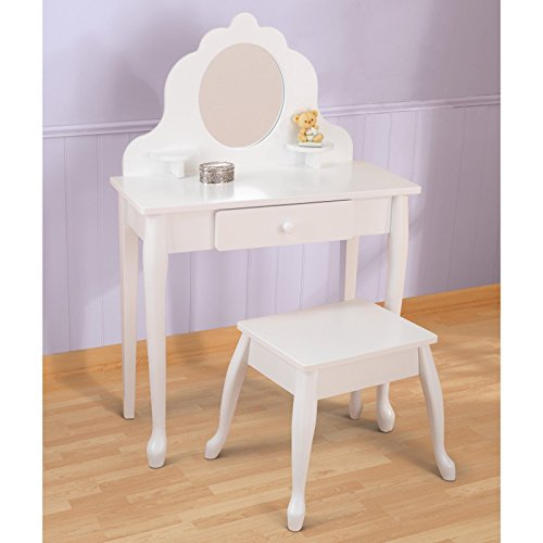 KidKraft Medium Diva Bedroom Vanity Set by New
