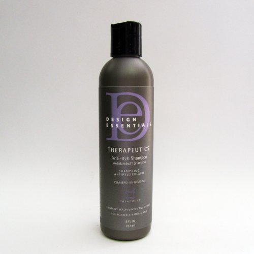 Design Essentails Therapeutics RX Anti Itch Shampoo (New Name: Peppermint & Aloe Therapeutics Anti-Itch Shampoo for Instant Scalp Relief)