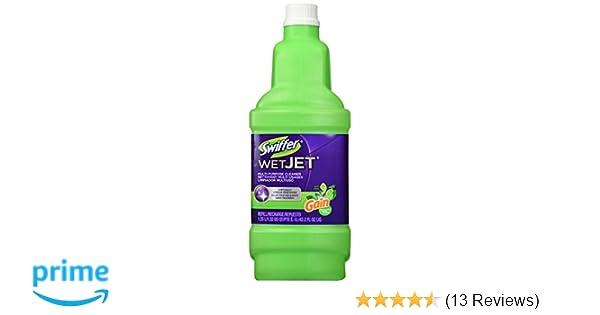 Swiffer Wet Jet Spray Mop Floor Cleaner Multi Purpose Solution Gain Original 422 Oz