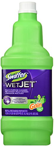 Swiffer Wet Jet Spray Mop Floor Cleaner Multi-Purpose Solution - Gain Original - 42.2 oz