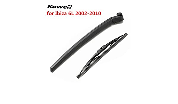 Amazon.com: Occus Wipers KOWELL Rear Windshield Wiper Blades Refill Brushes for Car Janitors for Seat Ibiza 6L 2002-2010 Back Window Windscreen Washer: ...