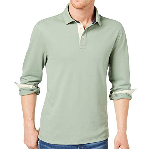 Club Room Men's Stretch Polo (Hedge Green, XL) from Club Room
