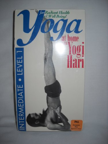 Amazon.com: Yoga at Home with Yogi Hari Intermediate Level 1 ...