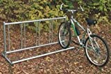 5 Bike Single Entry Rack Length: 20 ft Long