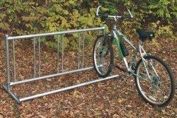 Permanent Single Entry Bike Rack
