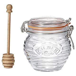 Kilner Honey Pot With Dipper, 13.5 Fluid Ounces