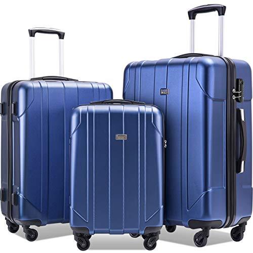 Merax 3 Piece P.E.T Luggage Set Eco-friendly