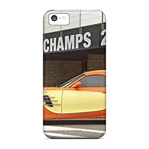 MMZ DIY PHONE CASEHill-hill Case Cover For iphone 6 plus 5.5 inch - Retailer Packaging Orange Bmw Ac Schnitzer V8 Topster Side View Protective Case