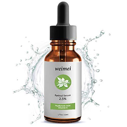 Retinol Serum, High Strength Anti-aging Serum with 2.5% Retinol,Hyaluronic...