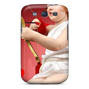 Awesome Small Aiming Boy Flip Case With Fashion Design For Galaxy S3