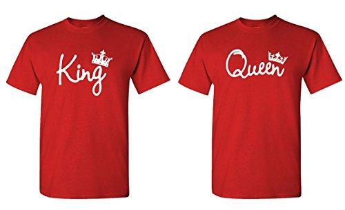 ples Two T-Shirt Combo Pack, MED Left, MED Right, Red ()