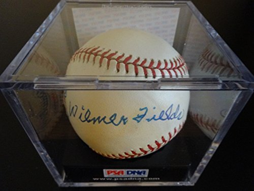 - WILMER FIELDS SIGNED AUTO HOMESTEAD GRAYS BASEBALL PSA CASE #Q62807 AUTOGRAPHED