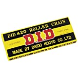 D.I.D 420 Standard 420 x 114 Links Includes Clip Masterlink Drive Chain 420x114