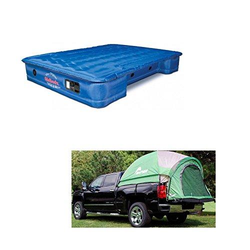 Pittman PPI-101 & Napier 13011 Backroadz Truck Tent & Mattress Bundle for 8'-8.2' Beds