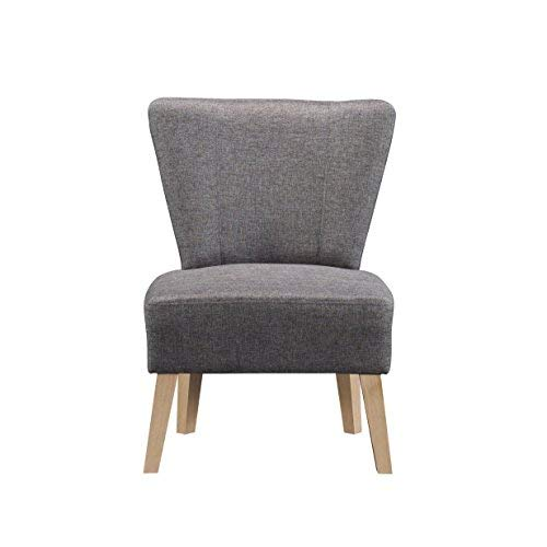 Sauder 417732 Square1 Chair, L: 24.80″ x W: 26.18″ x H: 33.47″, Cinder Grey finish