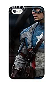 Fashion Tpu Case For Iphone 5C- Captain America The First Avenger Movie Defender Case Cover