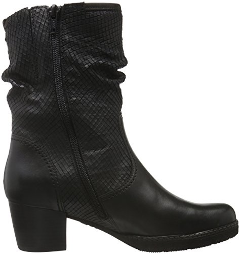 Gabor Shoes Comfort Basic, Botines para Mujer Negro (Schwarz micro)