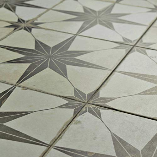 SomerTile FPESTRN Reyes Astre Ceramic Floor And Wall Tile X - Dah tile