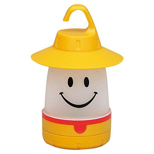 Smile LED Lantern: Portable Night Light Camping Lantern For Kids (Dandelion)