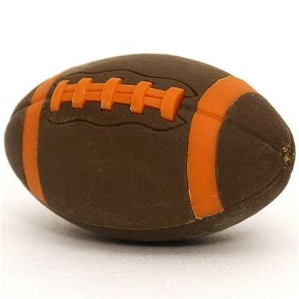 Goma de borrar, balón marrós fútbol americano: Amazon.es: Juguetes ...