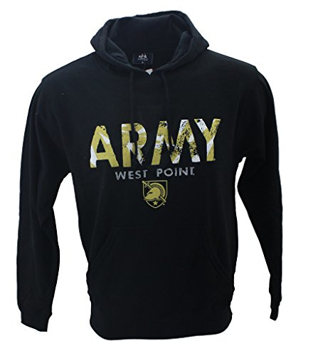 West Point Football (J America Men's Army West Point Knights Hoodie Black)