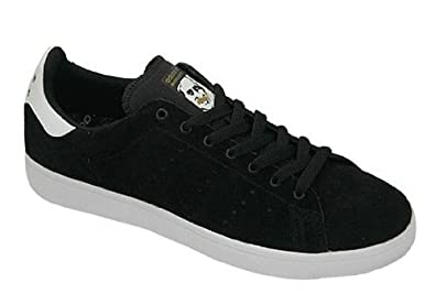 online store 28a47 639c8 Adidas Stan Smith Vulc Shoes Black Running White