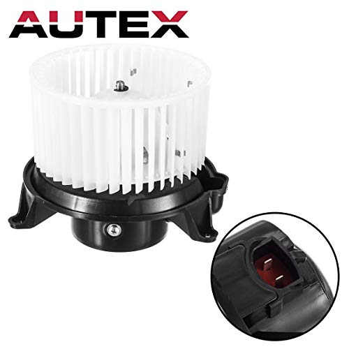 (AUTEX HVAC Blower Motor Assembly Compatible with 2003 2004 2005 2006 Ford Expedition Lincoln Navigator Blower Motor 04 05 06 07 08 Ford F-150 A/C Blower Motor Air Conditioner 700139 2C3Z19834AA)