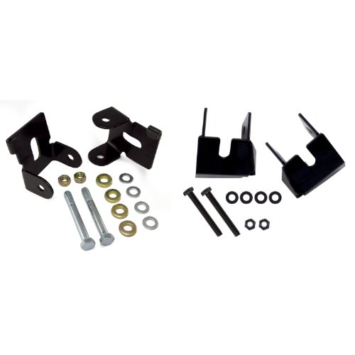 (Rugged Ridge 18003.37 Black Control Arm Skid Plate Kit - 4-Piece )