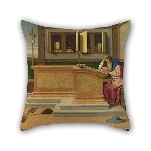 loveloveu-the-oil-painting-vincenzo-catena-saint-jerome-in-his-study-pillowcover-of-16-x-16-inches-4