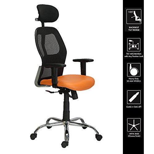 Green Soul Newyork HighBack Mesh Office Chair Orange