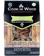 Cook In Wood Barbecue-accessoires Chunks van hout voor rooksmaak Brandy (1,2 kg)