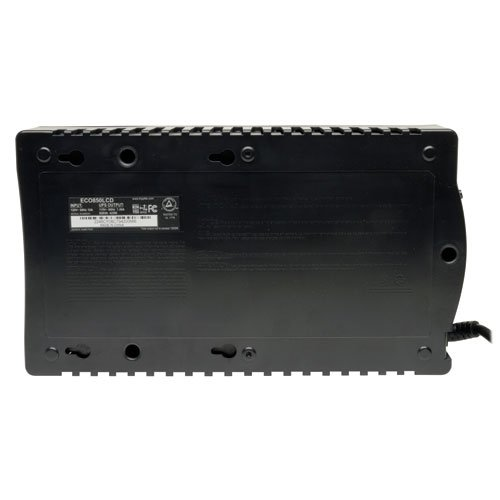 Tripp Lite Battery Backup, Eco USB, RJ11, 12 Outlets
