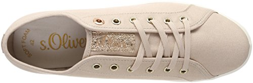 oliver 23622 Para gold Mujer Zapatillas S Rosa rose fdqw4f8Z